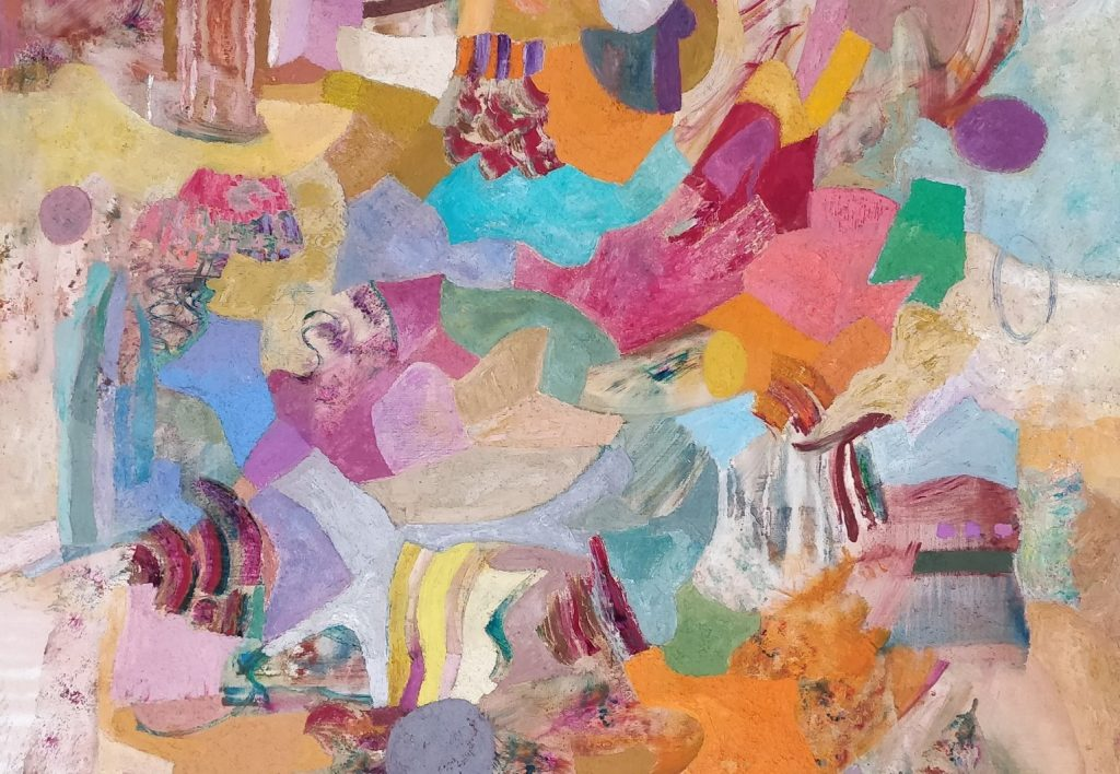 Tillandsia Apadana 4.500 € Huile et sable sur toile, encadré